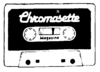 Chromasette tape, as pictured in the included newsletters.